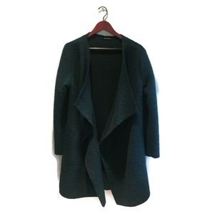 NWOT Wool Coat/Jacket Made in Italy,drk green, AOS